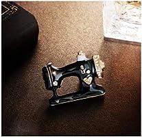 TAO Broches Broche de Niña máquina de Coser de época, un Material Multiusos, de aleación, Broche de Bufanda de Pin de Broche de Traje de Vestir 3.2 × 2.5 cm: Amazon ...