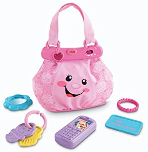 Fisher Price Laugh Amp Learn My Pretty Learning Purse Amazon