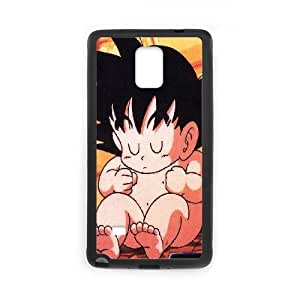 Samsung Galaxy Note 4 Cell Phone Case Black baby goku illust art LSO7958480