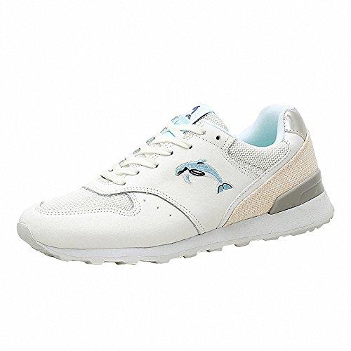 Ben Sports Damen Sneaker Trail Laufschuhe Turnschuhe Hallenschuhe Sportschuhe für Damen Weiß