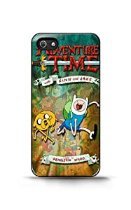 【iPhone 4/4s Case】Adventure Time Posters plástico duro caso para iPhone 4/4S