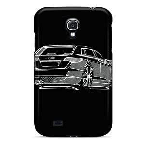 Galaxy S4 Case Cover - Slim Fit Tpu Protector Shock Absorbent Case (audi A3 Sportback)