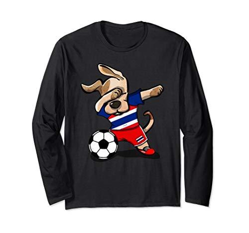 Dog Dabbing Thailand Soccer Jersey Shirt Thai Football - Thai Jersey Soccer