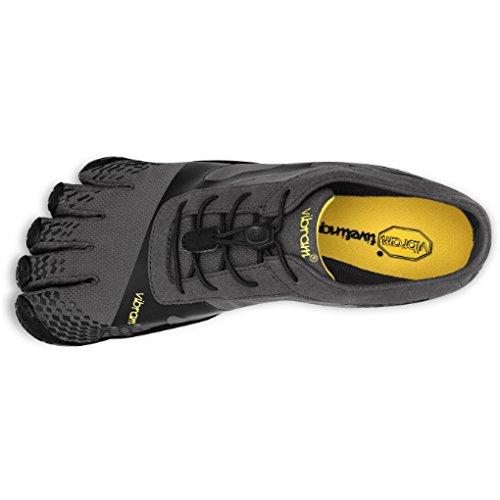 Vibram Men's KSO EVO Cross Training Shoe,Grey/Black,41 EU/8.5-9.0 M US by Vibram (Image #7)