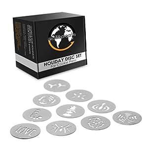 Amazon.com: Earths Dreams - Pistola de prensa para galletas ...