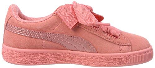Puma Suede Heart Snk PS, Zapatillas Para Niñas Rosa (Shell Pink-shell Pink)