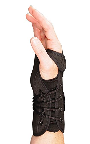 (Sammons Preston Lacing Wrist Brace, Medium, Left, 7