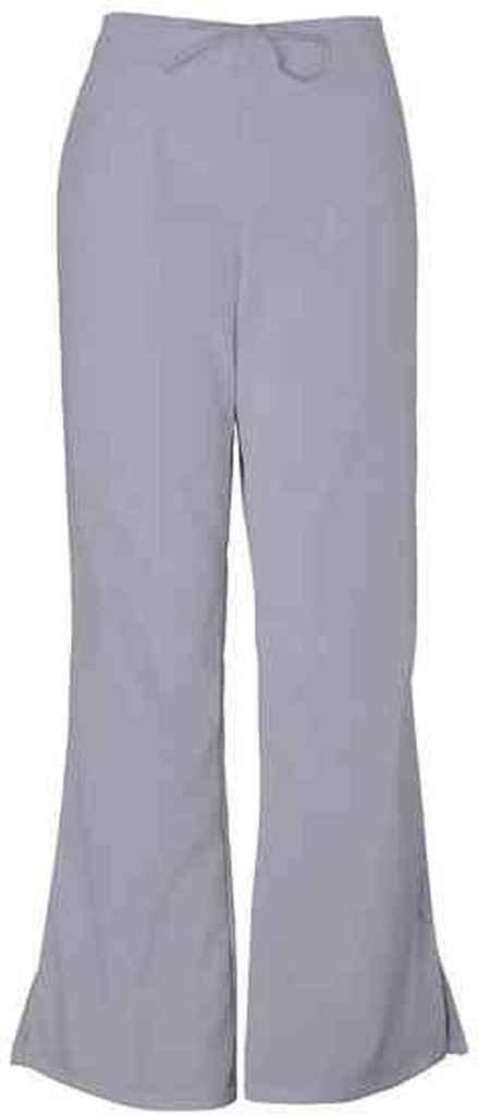 Cherokee Workwear Scrubs 4101 Low Rise Flare Leg Scrub Pant (Grey, XS) by Cherokee