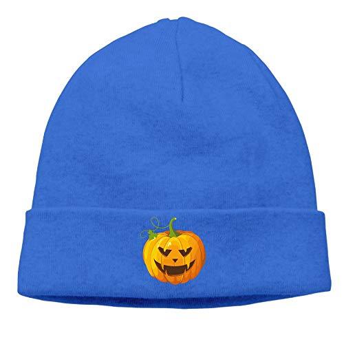 Men's&Women's Halloween Pumpkin Clip Art Soft Knit Hats