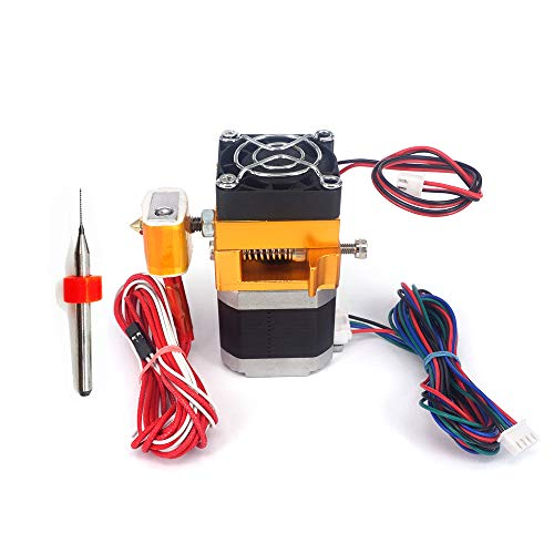 INBBOX MK8 Extruder Hotend for MakerBot Prusa i3 Reprap DIY 3D Printer-All Metal Assembled-.4mm Nozzle Print Head