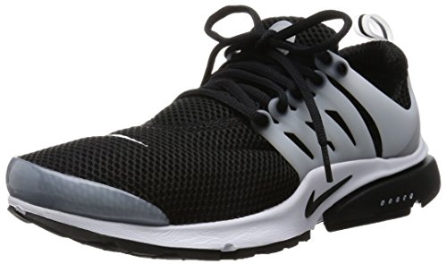 Nike Mens Air Presto Black Black White Neutral Grey Running Shoe 11 Men Us