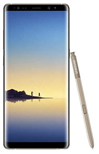 Samsung Galaxy Note 8 64GB Single-SIM SM-N950FZKABTU – 6.3″ inch Android Factory Unlocked 4G/LTE Smartphone (Maple Gold) – International Version