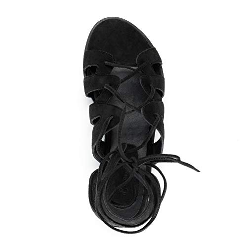 Ardesia 39 Pelle Raja Nero Sandalo Baccini sandali donne in BBwt0z