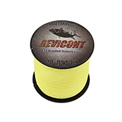 GEVICONT Braided Fishing Line - MAKE FISHING COOL is our purpose. FREE FOUND FUN is our attitude. Come join us! TO BE A COOL ANGLER. Let's Make Some Difference. Make It Yours. GEVICONT Braided Fishing Line is made from UHMWPE (Ultra High Mole...