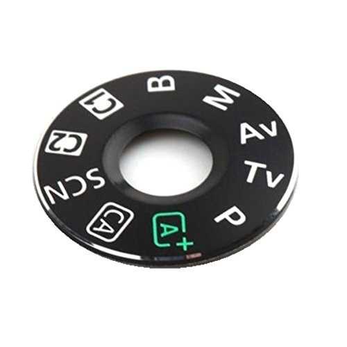 (FANSONG Mode Dial Sticker Turntable Replacement Part for Canon EOS 6D)