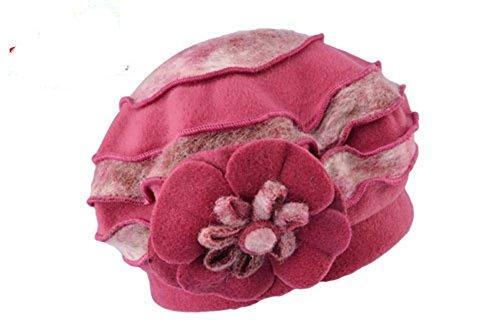 Gorro De Prueba Otoño Rose Moda red A Knit Invierno Negro Cálido ZGMZHNXC Lana De Sombrero Sombrero Viento 7nwWZ4EPq