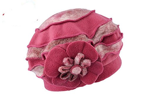 Sombrero Otoño Knit red ZGMZHNXC De Rose A Gorro Negro Viento Invierno Moda Cálido Lana Sombrero Prueba De FxxwSY