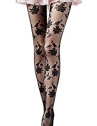 Binmer(TM)Women Rose Sexy Long Socks Pantyhose Stocking Tights