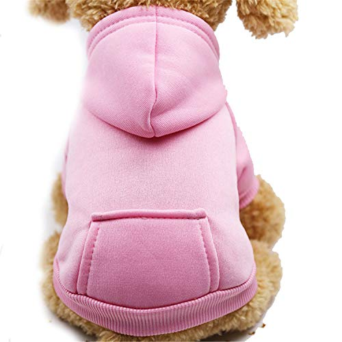 Dog Hoodies Pet Clothes for Dogs Coat Jackets Cotton Dog Clothes Puppy Pet Overalls for Dogs Costume Cat