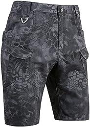 2021 Upgraded Waterproof Tactical Shorts, Men Urban/Outdoor Tactical Shorts, Men's Water Resistant Work Hi