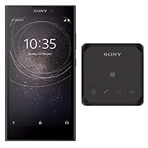 Sony Xperia L2 Factory Unlocked Phone - 5.5Inch Screen - 32GB - Black (U.S. Warranty) with Sony SRSX11 Ultra-Portable Bluetooth Speaker (Black)