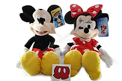 da96d1bd2 Image Unavailable. Image not available for. Color: Minnie Mouse Mickey  Mouse Plush Doll Disney ...