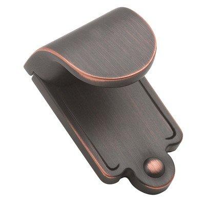 Amerock BP1593-ORB Inspirations Finger Pull Plain Oil Rubbed Bronze, 1-7/8-Inch ()