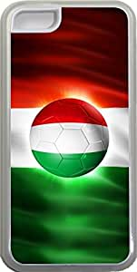 chen-shop design Rikki KnightTM Brazil World Cup 2014 Italy Italia Team Football Soccer Flag Design iPhone 5c Case Cover (Clear pc with bumper protection) for Apple iPhone 5c high quality