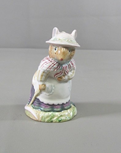 851 Royal Doulton Brambly Hedge OLD MRS. EYEBRIGHT Figurine Royal Doulton Brambly Hedge