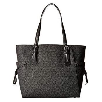 b1f050e10 Amazon.com: MICHAEL Michael Kors Voyager Medium Leather Tote (Acorn ...