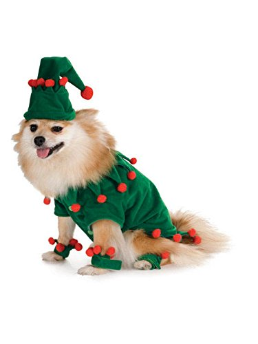 Elf Pet Costume, Medium -