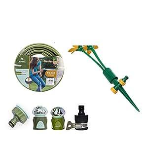 Latas de riego rotativas móviles/jardinería exterior latas de riego/regadera automática del jardín/pote de riego del césped-C
