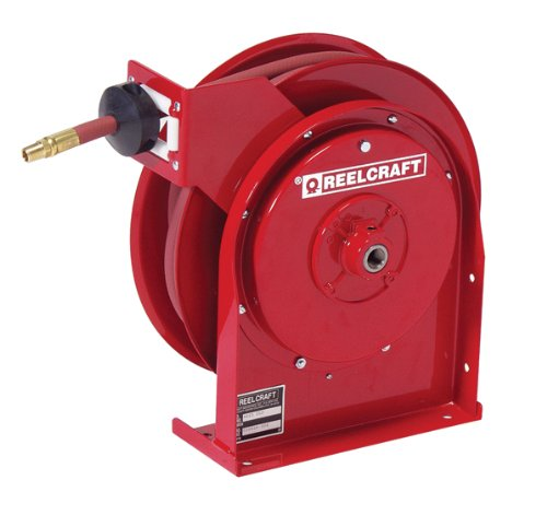 Reelcraft 4617 Olp 3 8  X 17 300 Psi Premium Duty Retractable Hose Reel For Air Water