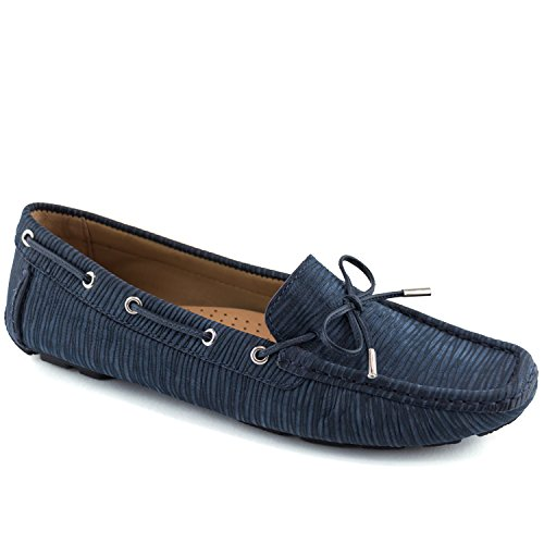 Wave Driver (Driver Club USA Women's Fashion Shoes Nantucket Navy Wave Driver Size 7)