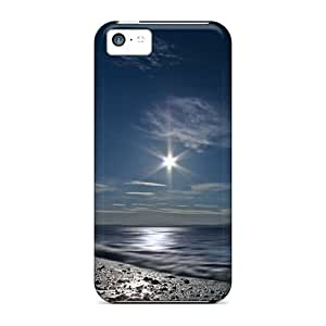 For GNRbdQs5102dnhWj Dark Afternoon Protective Case Cover Skin/iphone 5c Case Cover