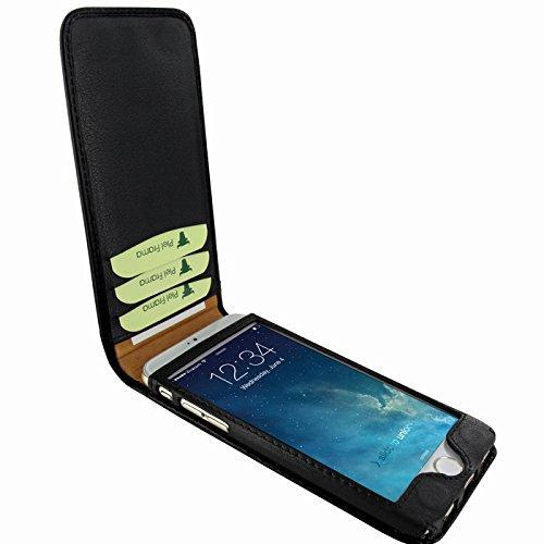 PIELFRAMA 689LA Lizard Magnetic Case Apple iPhone 6 Plus in schwarz