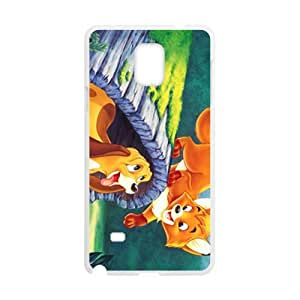 Lovely cat and dog Cell Phone Case for Samsung Galaxy Note4