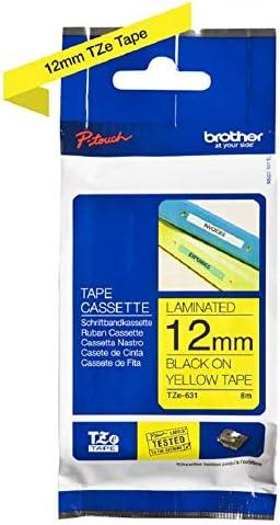 2x Brother P-touch tape TZe-231  Schriftbandkassette Beschriftungsband ORIGINAL