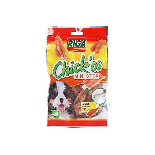 RIGA Chick'os Filet de poulet - Stick mini x 8 - Sachet 65 g 3166780045345