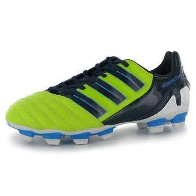 adidas V23560 - Botas de fútbol para niño Amarillo - SLIME/DKINDI
