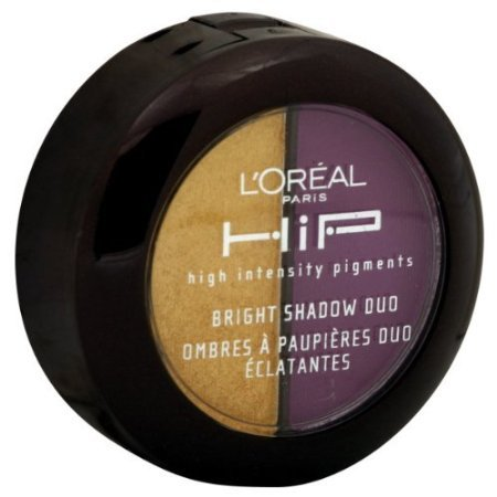 L'Oreal Paris HIP High Intensity Pigments Bright Shadow Duo Flamboyant (2-Pack) (Loreal Hip Pure Pigment)