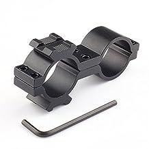 "1 Inch Scope Mount/12 Gauge Mag. Tube for 1"" Flashlight Laser Mount Dual Ring for Rifle/ Shotgun"