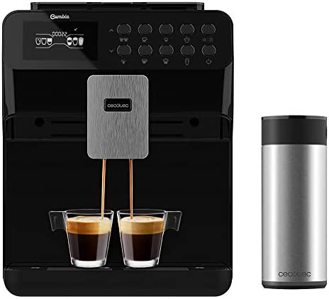 Cecotec Cafetera Superautomática Power Matic-ccino 7000. Depósito de Leche. Pantalla digital. Café totalmente Personalizable. Tecnología ForceAroma 19 bares de ...