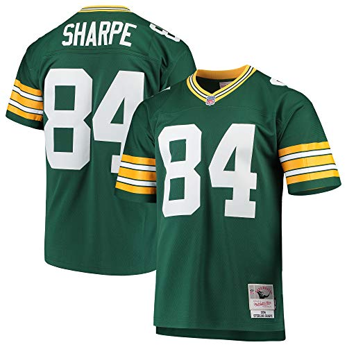 Mitchell & Ness Sterling Sharpe Green Bay Packers 1994 Legacy Throwback Jersey Green ()