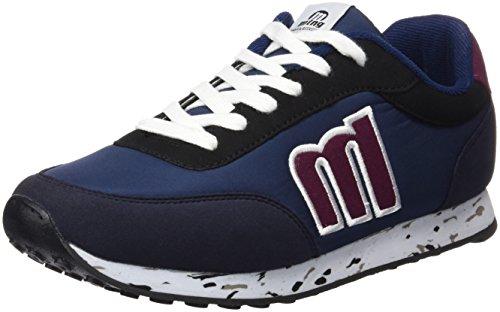 Azul Blue mujer para Blue Zapatillas MTNG Attitude Nylon Raspe 56406 pFwqzqTxX