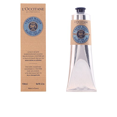Shea Butter Hand Care (L'Occitane Fast-Absorbing 20% Shea Butter Hand Cream, 5.2 oz.)