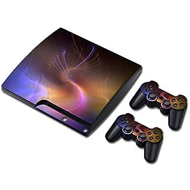 Meiruian Multi-style Skin Sticker Cover for PS3 PlayStation 3 Slim+2 Controller zhuhaishi meiruian shangmao youxiangongsi
