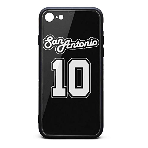 3D Phone Cases for iPhone 6/6s,6 Plus/6s Plus,7/8 Non-Slip Shockproof Ultra Slim Fashionable Transparent Tempered Glass Back Covers Durable PC TPU Hybrid Protective Shockproof Glossy