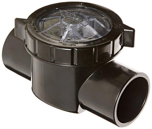 Waterway Plastics 600-7010 TruSeal Serviceable Swing Check Valve -
