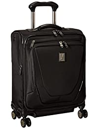 Travelpro Crew 11 Intl Spinner Carry On Luggage, Black